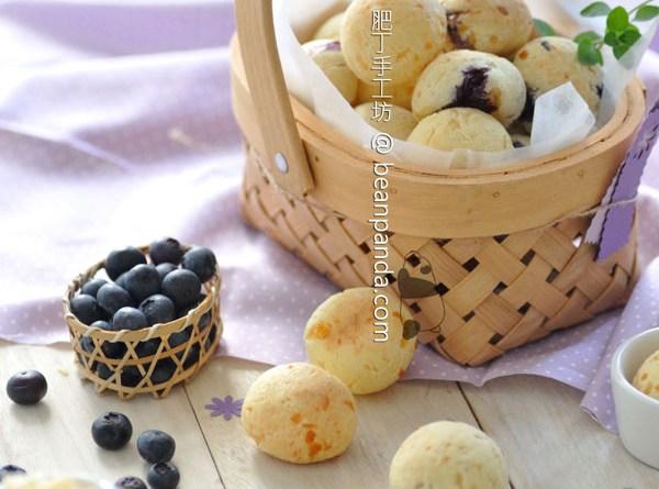 藍莓芝士麻糬波波【醬爆滋味】Blueberry Mochi Bread