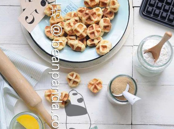 一口鬆餅【迷你鍋夫餅】Mini Waffle