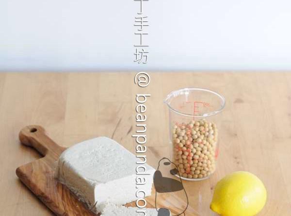 自製豆腐【不含鹽滷石膏】Homemade Tofu