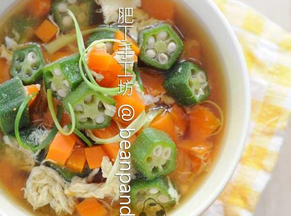 秋葵味噌湯【秋之味覺】Miso Soup with Okra