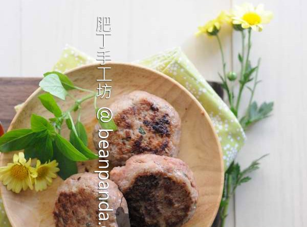山藥漢堡【嚼勁極好】Chinese Yam Burger Patties