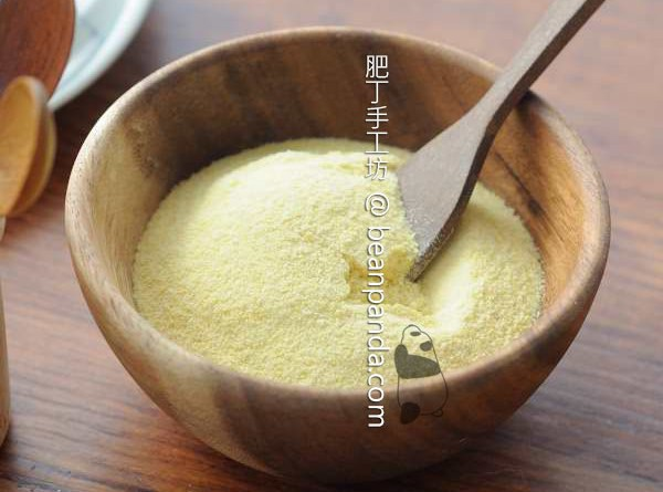自製綠豆粉 Homemade Mung Bean Flour