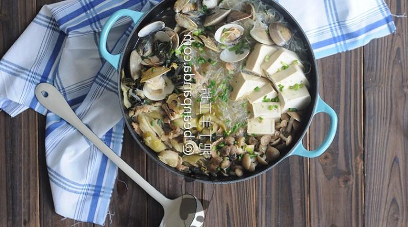 酸菜白肉鍋【圍爐夜話】Meat with Pickled Mustard Green Hot Pot