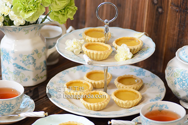 港式蛋撻【牛油皮(奶油皮)】Butter Egg Tart