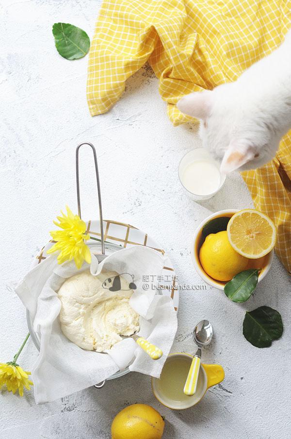 自製茅屋起司【不用發酵熟成】Homemade Cottage Cheese Recipe