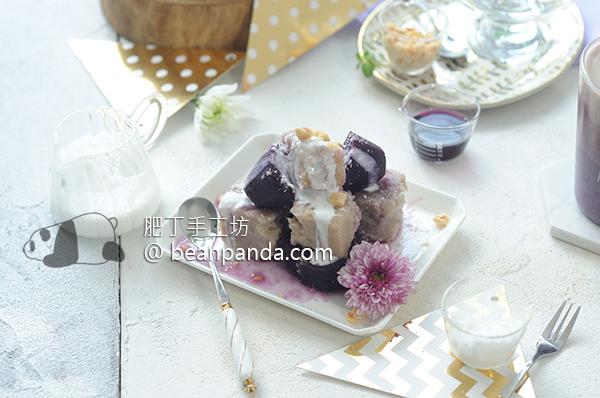 蜜芋頭/蜜紫地瓜 綿密Q軟 Candied Taro & Purple Sweet Potato