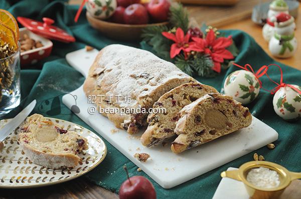德國史多倫聖誕麵包 不含蛋奶 減糖 Vegan Stollen