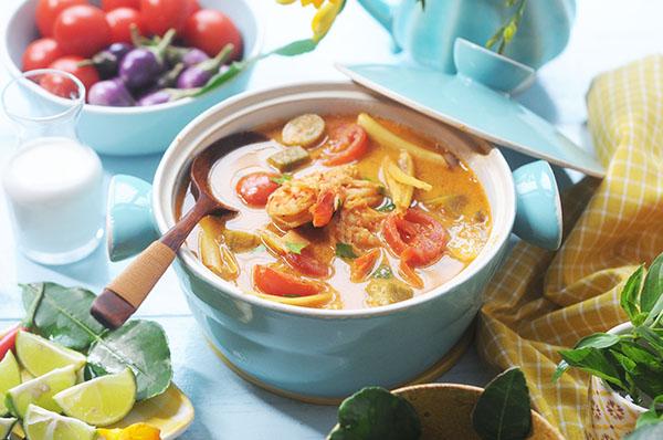 泰式冬蔭功 自製冬蔭功醬 Thai Tom Yum Soup Recipe