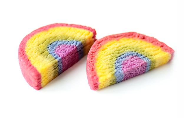 彩虹餅乾 最甜美的問候與祝福 全蔬食沒泡打粉 Plant-based Rainbow Cookies Recipe Vegan