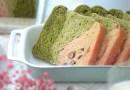 治癒系漸層抹茶 没蛋奶 水合法湯種麵糰手揉不黏手 How to Make Tangzhong Matcha Bread Loaf