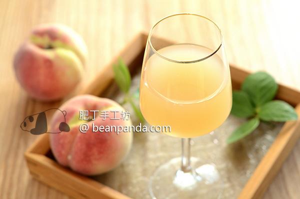 自釀蜜桃酒的誘惑【天然發酵】甜酸濃濃蜜桃味 Making Homemade Peach Wine