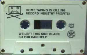 Old cassette tape from the Dead Kennedys