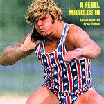 A rebel muscles in