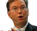 Eric Schmidt from Google