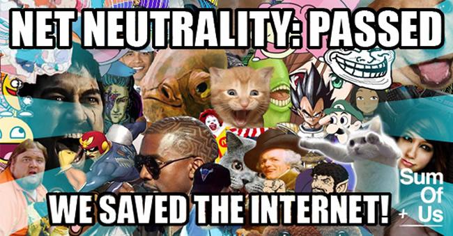 Net Neutrality Victory Memes
