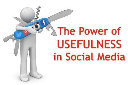 Power of Usefulness in Social Media