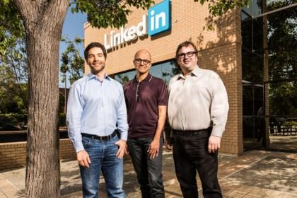 Microsoft buys LinkedIn for $26.2 billion.