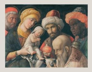 Adoration of the Magi, Andrea Mantegna, 1431-1506. Digital image courtesy of the Getty's Open Content Program.