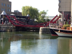 Bascule Bridge, St Katherine's Docks