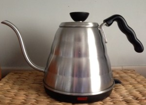 kettle, V60, spout, pourover, v60 preparation