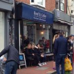 Outside Bond St Coffee Brighton