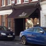 Coffee in Le Peche Mignon, Highbury, Islington