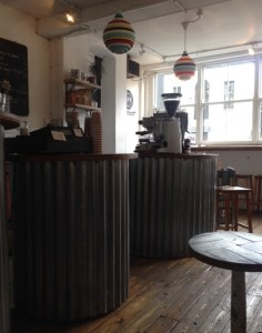 interior of Wilton Way cafe