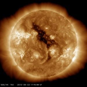 coronal hole, Sun
