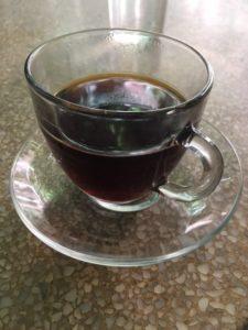 filter, Brazilian or Guatemalan, V60, rainbow, glass, Coleman Coffee, Lower Marsh, Waterloo