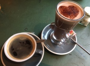 coffee in a friendly environment Canterbury