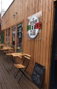 Italian coffee club, Shepherd's Bush Market