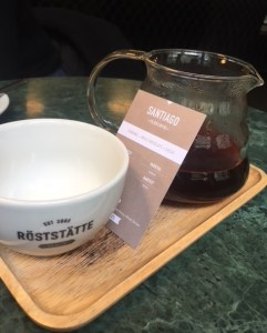 pour over, Roststatte, Berlin