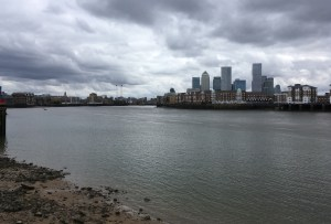 Thames, Canary Wharf