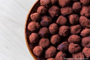 Home made Madagascar truffles
