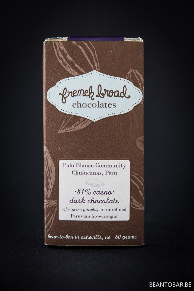 French Broad Chocolates – Palo Blancos Community Chulucanas Peru – 81%