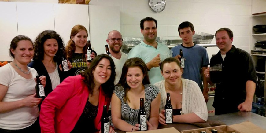 Do-it-yourself beer brewing workshop