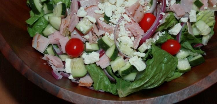 Greek Salad with Balsamic Dressing | salad recipes | healthy recipes