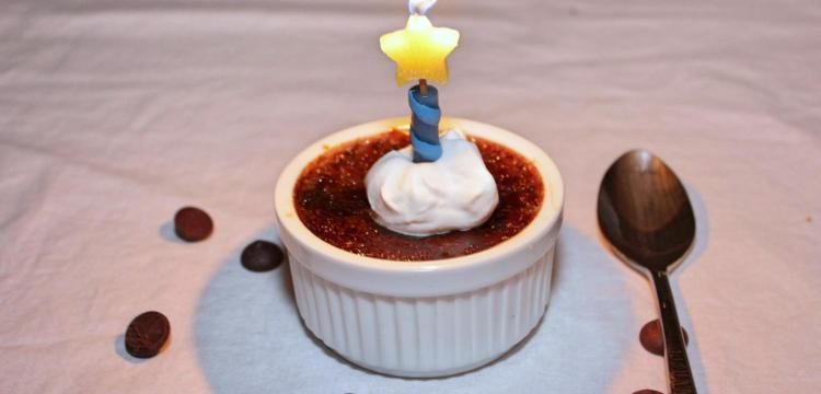 Dark Chocolate Creme Brulee | BearandBugEats.com