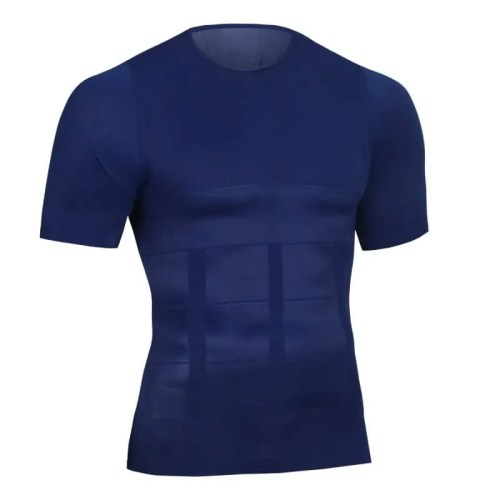 Tummy Control Firmer and Compression T-shirt/Vest - Bearboxers Menswear