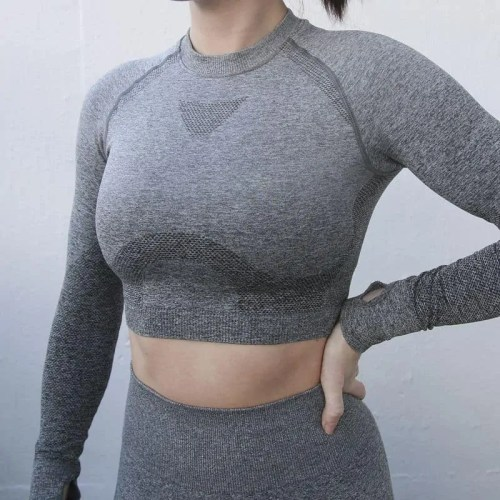 Bearboxers Womens Long Sleeve Pant and Crop Top Set - Bearboxers