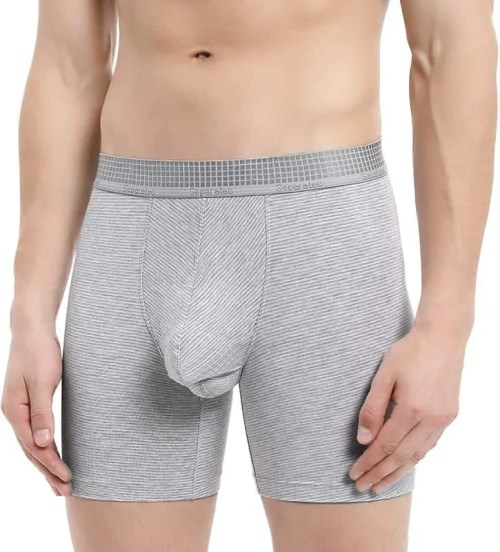 Separatec Men's Boxers Briefs Soft Micro Modal with Separated Dual Pouches Underwear 3 Pack Boxer Shorts Ultra Comfy Lightweight Trunks