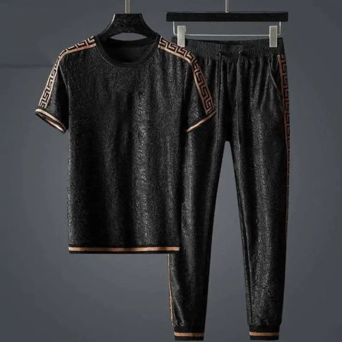 Bearboxers Menswear Short Sleeve Sports Suit 2PCS
