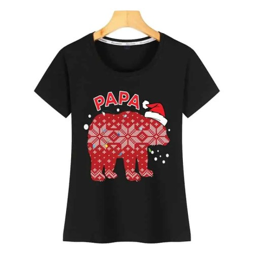 Tops T Shirt Women papa bear Tshirt
