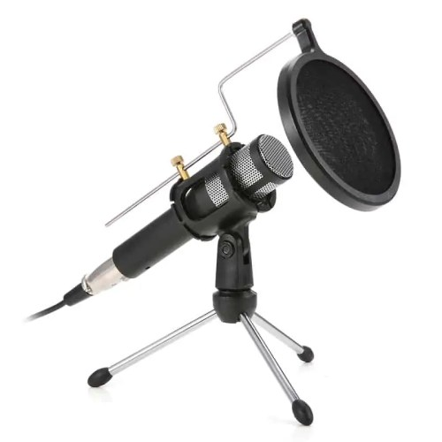 Professional Home Studio Condenser USB Podcast Recording Microphone