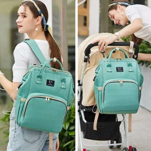 Maternity Baby Diaper Backpack Stroller Bag