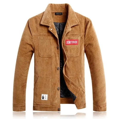 Corduroy Thick Winter Jacket S-3XL Fashion Coat