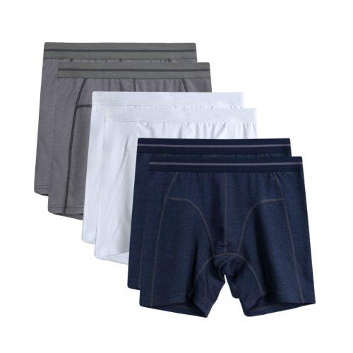 6Pcs/lot Male Boxers Cotton Loose Underwear Plus Size