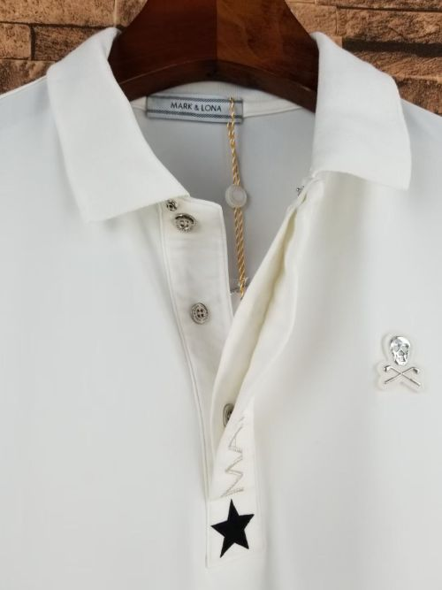 Bearboxers Mark Lona Men's Long Sleeve Polo-Shirt