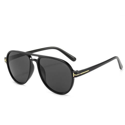 Tom Ford vintage futuristic pilot sunglasses leopard green