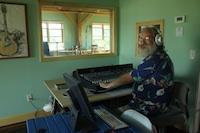 Gene at work in the studio